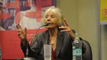 La ensayista Beatriz Sarlo