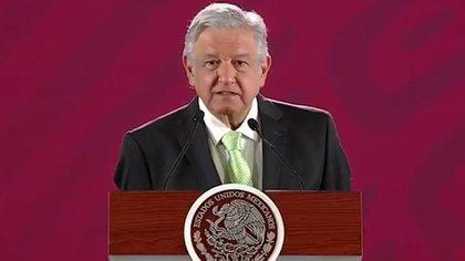 Andrés Manuel López Obrador reveló que la serie fue financiada por personas cercanas al PRI (Foto: Archivo)