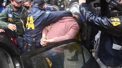 Uno de los ex agentes de la AFI detenidos (Maximiliano Luna)