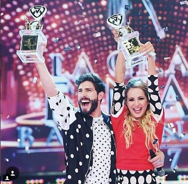 A fin de año se consagró campeona del Bailando con Golzalo Gerber.