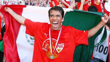 Pavel fue campeón en su primera temporada en Alemania (Foto: Especial)
