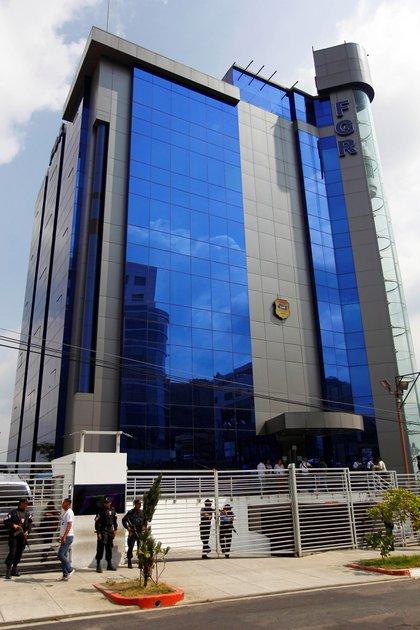 Vista de las instalaciones de la Fiscal�a General de la Rep�blica (FGR) en El Salvador. EFE/Oscar Rivera/Archivo