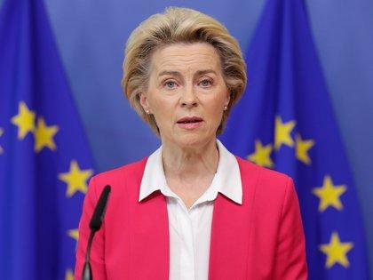 Ursula von der Leyen. EFE/EPA/STEPHANIE LECOCQ / Archivo