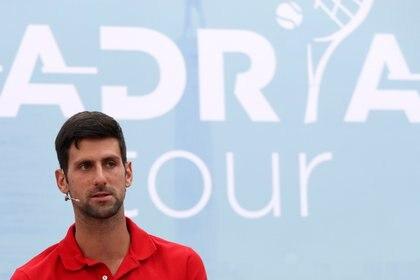 Novak Djokovic está ahora en el centro de las críticas (Reuters)