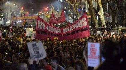 Marcha de Ni una menos (Gustavo Gavotti)