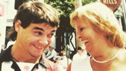 Pedro Alfonso y su madre, Ana (Foto: Instagram)