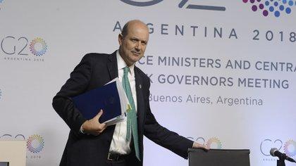 Federico Sturzenegger, titular del BCRA (Patricio Murphy)