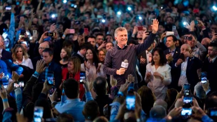 Macri encabezó ayer un acto en Córdoba
