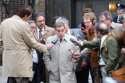 Al Pacino fue el elegido para interpretar al líder sindical (GROSBY GROUP)