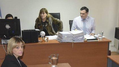 La jueza Yáñez, durante una de las 70 declaraciones testimoniales que engrosan el expediente por la desaparición del ARA San Juan (NA)
