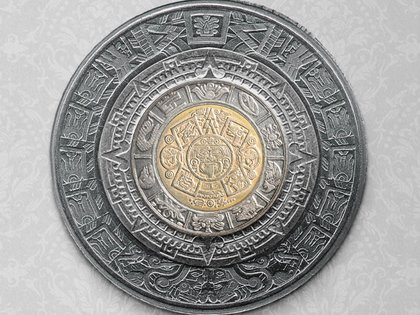 Varios usuarios de redes sociales descubrimos que si unes los fragmentos de las monedas de uno, dos, cinco y diez pesos, obtendrías un calendario Azteca completo. (Foto: captura de pantalla)