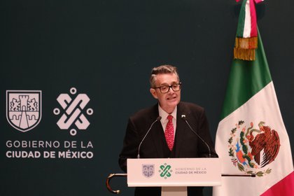 Secretario de Gobierno de la CDMX dio positivo a COVID-19 por segunda ocasión FOTO: GRACIELA LÓPEZ /CUARTOSCURO.COM
