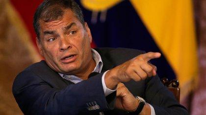 Rafael Correa, expresidente de Ecuador (AP)