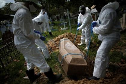 Brasil es el segundo país más afectado por el coronavirus a nivel mundial (REUTERS/Ueslei Marcelino)