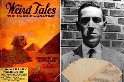Los trabajos realizados con H.P. Lovecraft