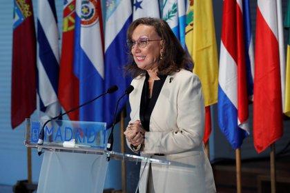 La secretaria general iberoamericana, Rebeca Grynspan. EFE/Zipi/Archivo