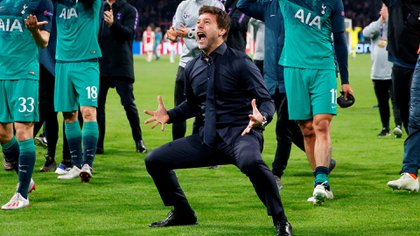Pochettino, el día que su Tottenham logró clasificarse a la final de la Champions League (Reuters/Matthew Childs)