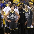 OAKLAND, CALIFORNIA - JUNE 13: Stephen Curry #30 of the Golden State Warriors reacts late in the game against the Toronto Raptors during Game Six of the 2019 NBA Finals at ORACLE Arena on June 13, 2019 in Oakland, California. NOTE TO USER: User expressly acknowledges and agrees that, by downloading and or using this photograph, User is consenting to the terms and conditions of the Getty Images License Agreement. Ezra Shaw/Getty Images/AFP