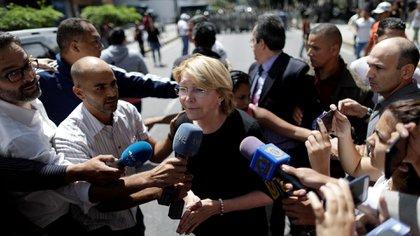 Luisa Ortega Díaz aterrizó en Bogotá el viernes por temor a la persecuciónde Maduro