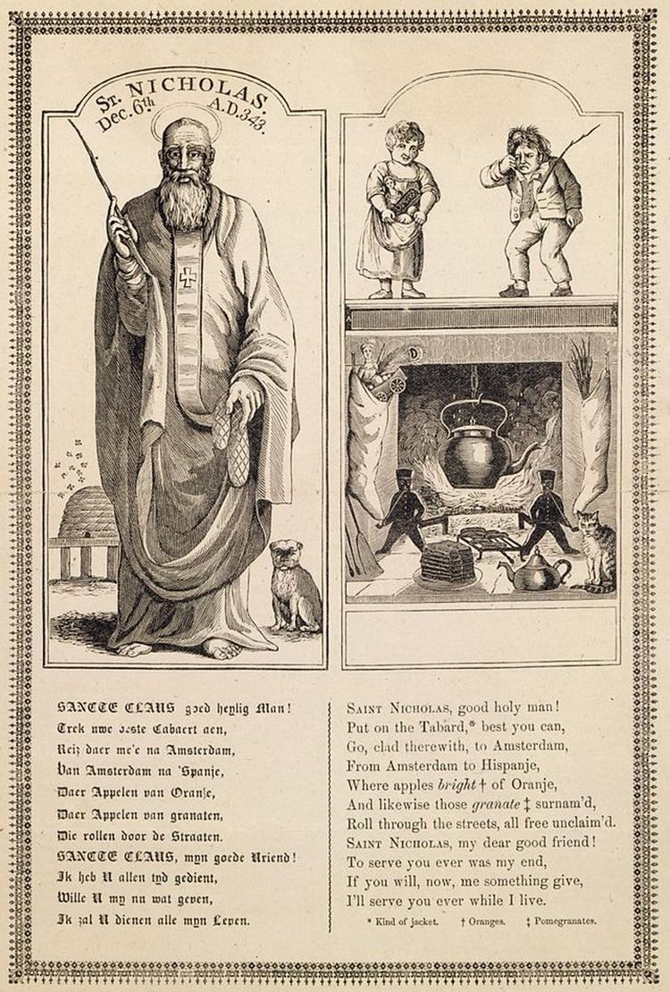 San Nicolás por John Pintard (1810)