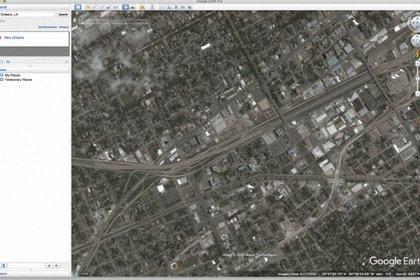 Google Earth en el año 2005
