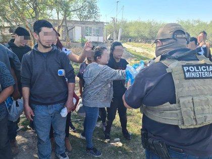 Tamaulipas, frontera con Estados Unidos, es un paso obligado para los migrantes que entran a México con el objetivo de pisar suelo norteamericano (Foto: FGE/Twitter)