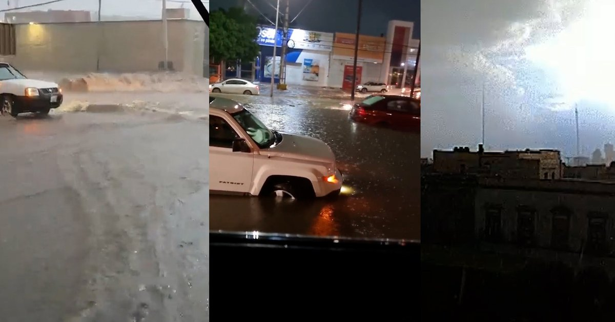 Floods in Querétaro: the shocking images left by the heavy rains