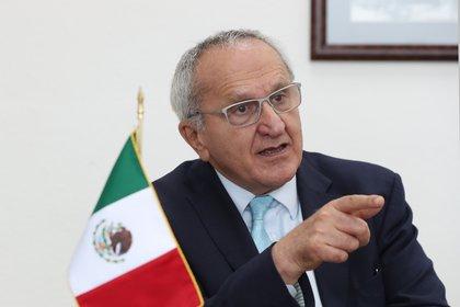 Seade fue propuesto por México para dirigir la OMC y AMLO buscará hablar sobre el tema con Trump (Foto: Mario Guzmán/ EFE)