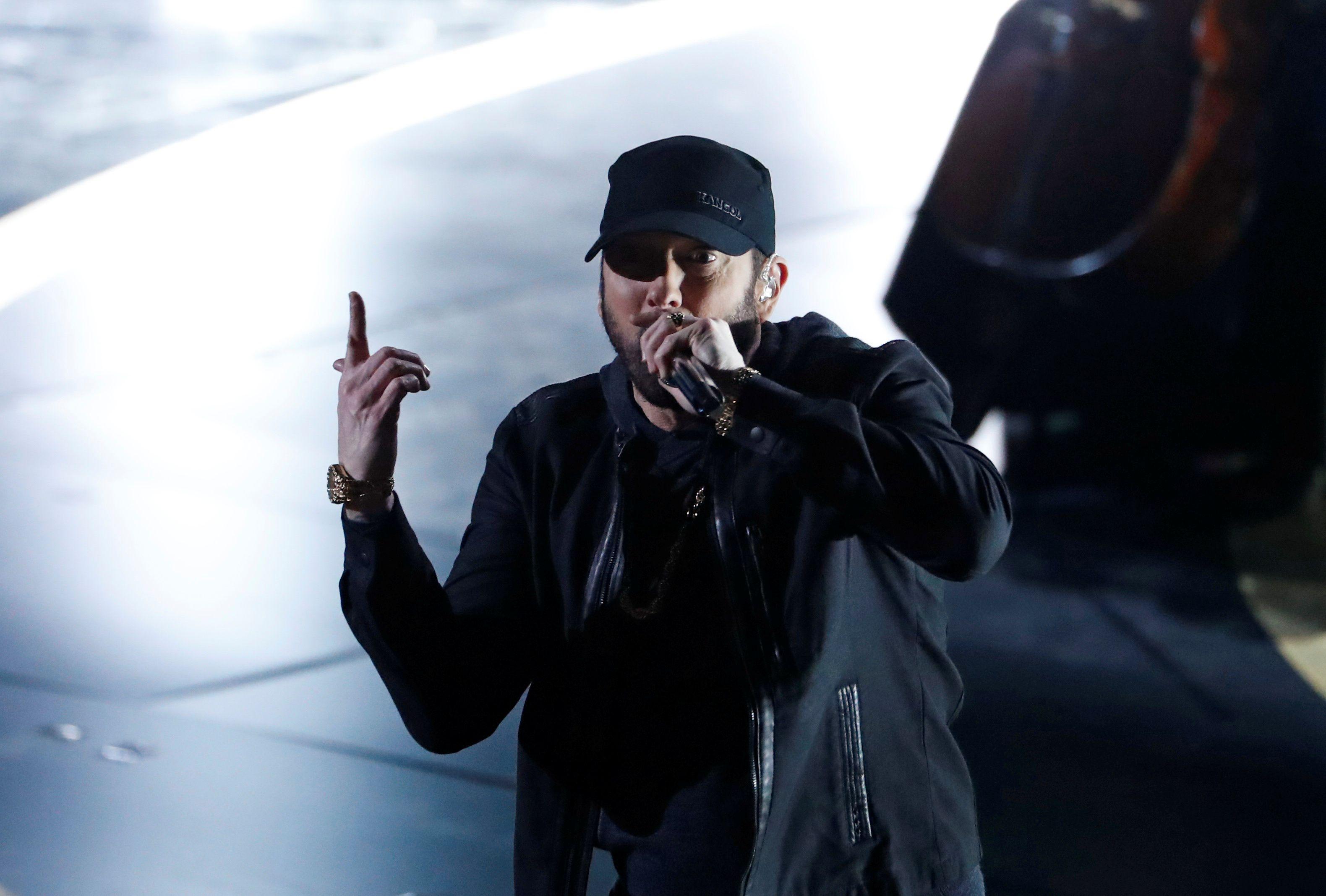 Eminem solo ha estado casado con Kimberly (REUTERS)