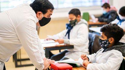 A partir de agosto, la mayoría de las provincias volverán a las aulas (AP)