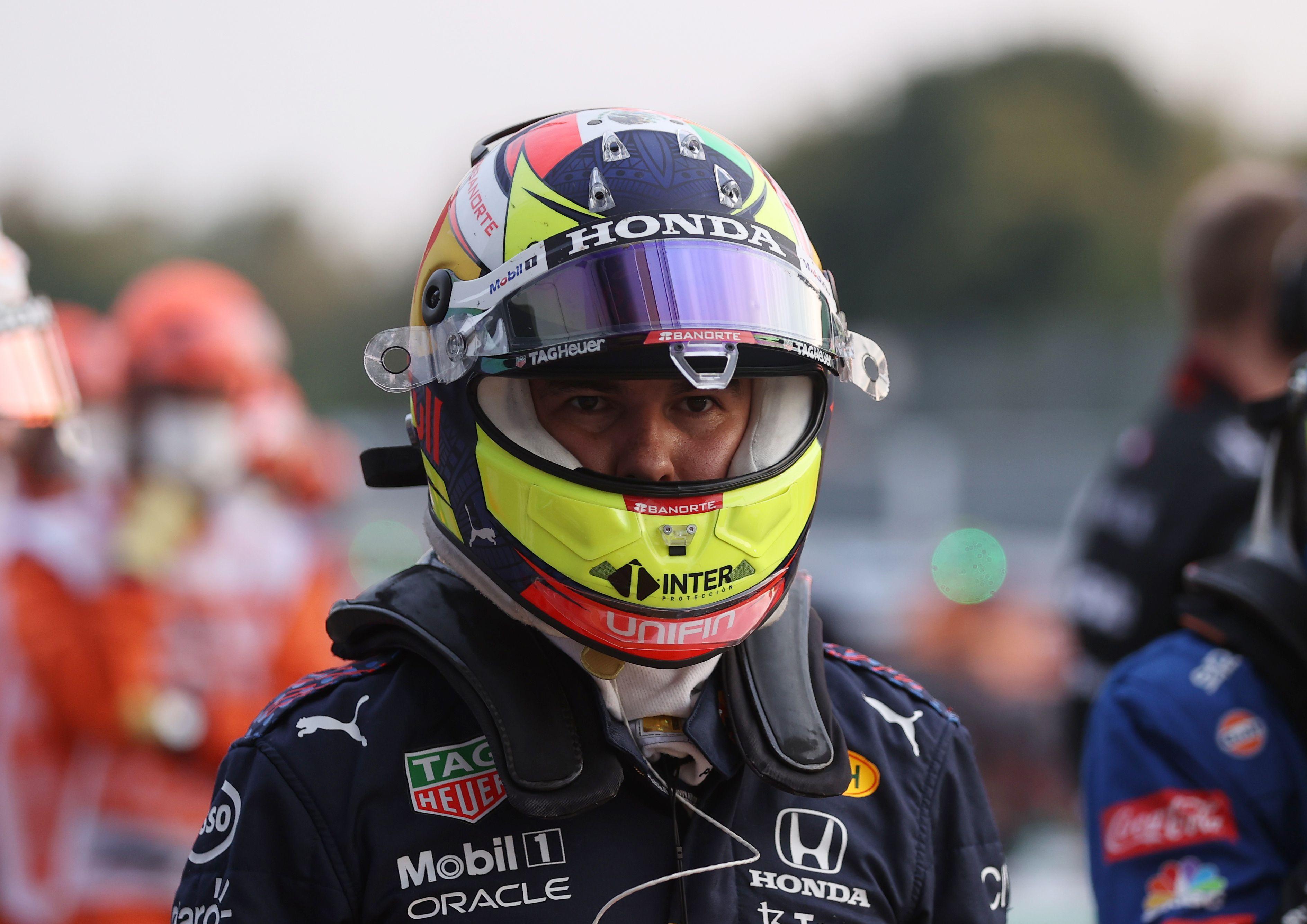 """Sergio """"Checo"""" Pérez largará desde la posición 8 de la parrilla en el Gran Premio de Italia (Foto: REUTERS/Lars Baron)"""