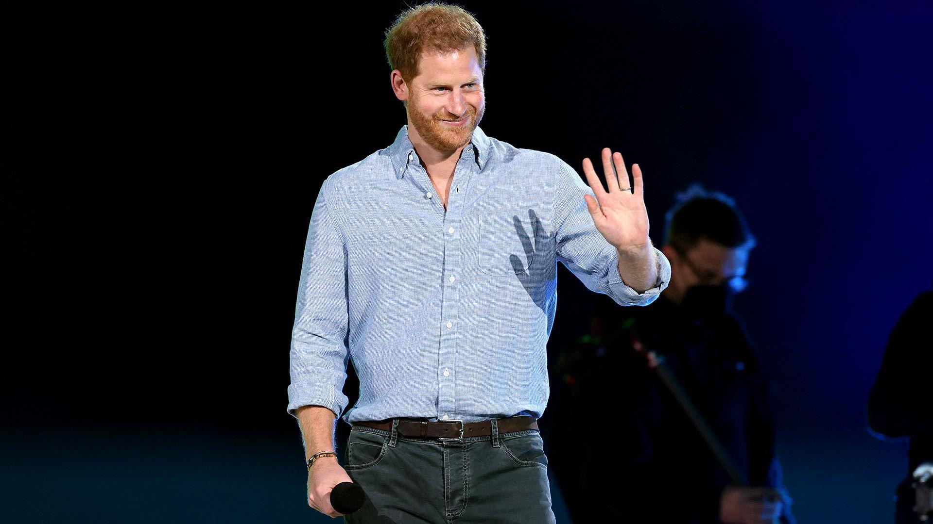 príncipe Harry concierto