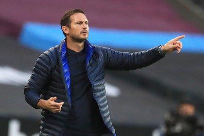 Frank Lampard, entrenador del Chelsea (Reuters)