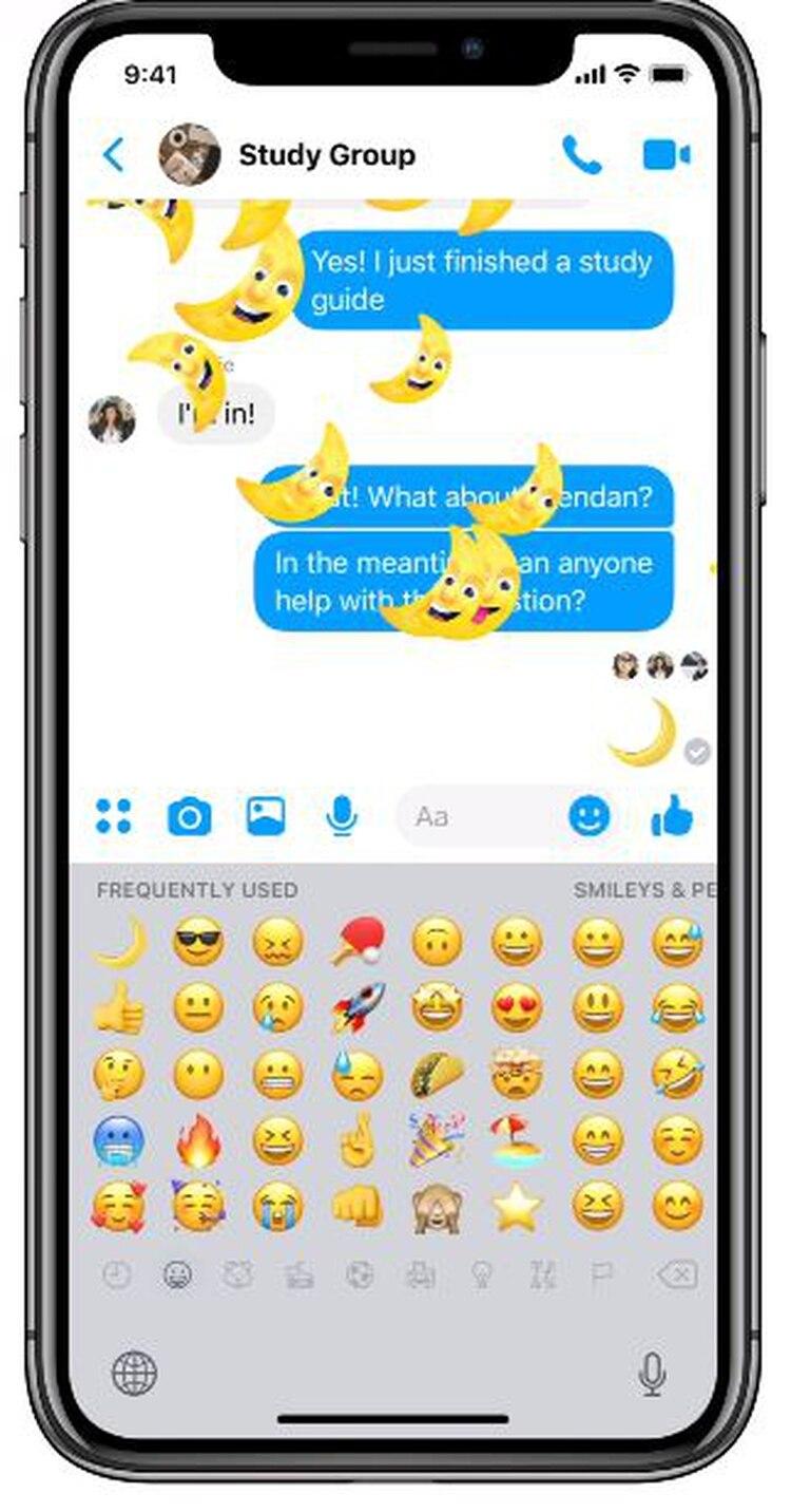 La app te enviará una lluvia de lunas (Foto: captura de pantalla)