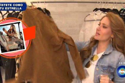 jolette ofrecerá consejos de moda (Captura Las Estrellas)