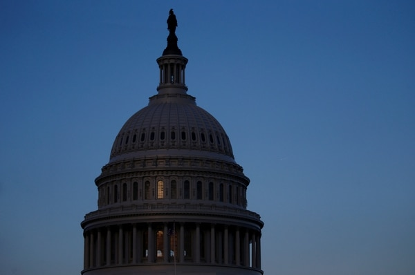La cúpula del Capitolio este jueves en Washington (REUTERS/ Leah Millis)