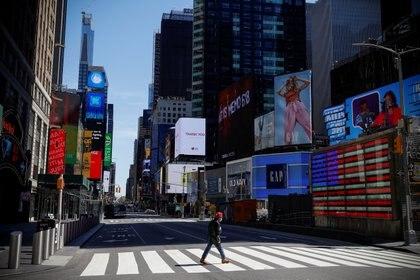 Manhattan fue la zona en la que se registraron menos casos positivos de anticuerpos (REUTERS/Mike Segar)