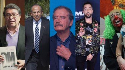 Brozo, Chumel Torres, Fox y Calderón criticaron a David Monreal por tocar los glúteos de una candidata de Morena