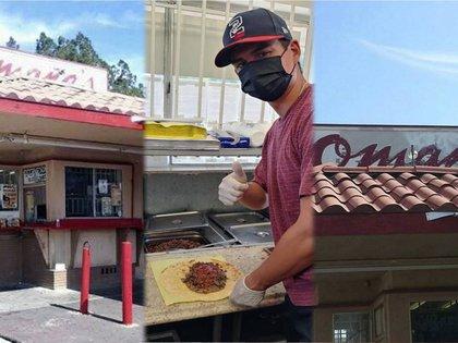 Henry Omaña, el beisbolista mexicanos que vende tacos por la pandemia de COVID-19 (Foto: Cortesía/ LMB)