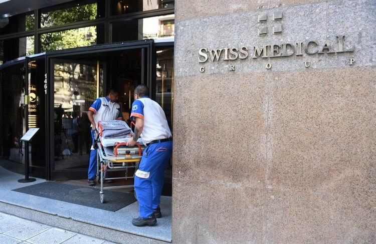 El primer infectado fue detectado en la Clínica Swiss Medical de Palermo