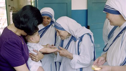 La Madre Teresa obtuvo el Premio Nobel de la Paz en 1979 y donó todo el dinero (AFP)