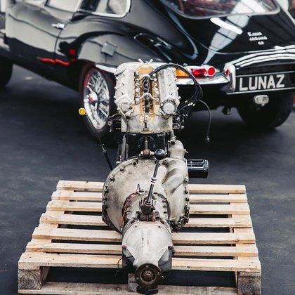 El impulsor eléctrico que lleva el Jaguar convertido por Lunaz.