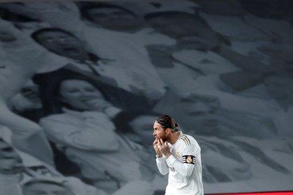 Sergio Ramos, intratable con las redes: lleva 12 goles esta temporada (EFE/JuanJo Mart)
