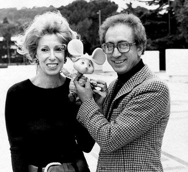 María Perego y su marido, Federico Caldura