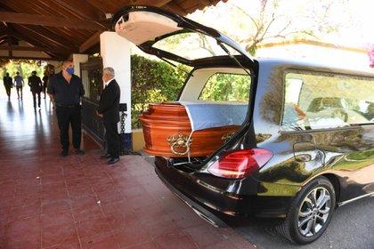 Los restos fueron trasladados ayer a Buenos Aires