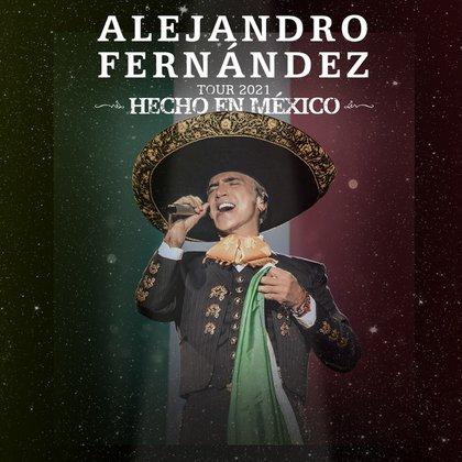 Alejandro Fernández anuncia su gira de otoño por los Estados Unidos ( Foto: Cortesía de Live Nation)