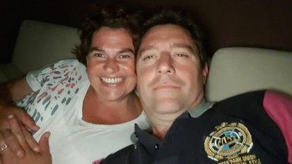Gabriela Calafatich y su esposo Fernando Lasserre se enteraron de que iban a ser padres a comienzos de 2016