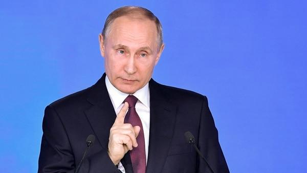 Vladimir Putin, presidente de Rusia (AP)