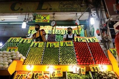 Venta de productos básicos en la Central de Abastos de la Ciudad de México (Foto: REUTERS/Carlos Jasso)