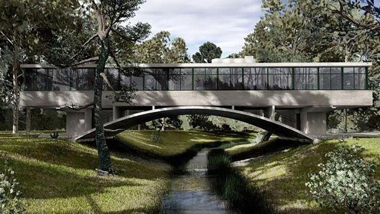 Casa del Puente es un emblema del Movimiento Moderno que se estudia en todo el mundo